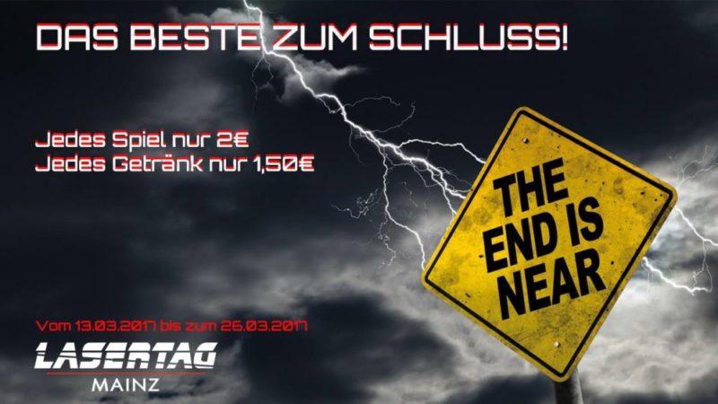 Lasertag Mainz schließt für immer