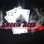Logo des Lasertag Team smoking aces