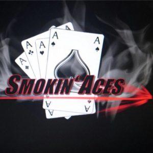 Logo des Lasertag Team smoking aces