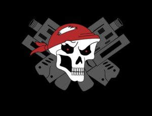 Logo des Lasertag Team Pirates