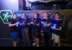 Gruppenbild des lasertag team Laserpower