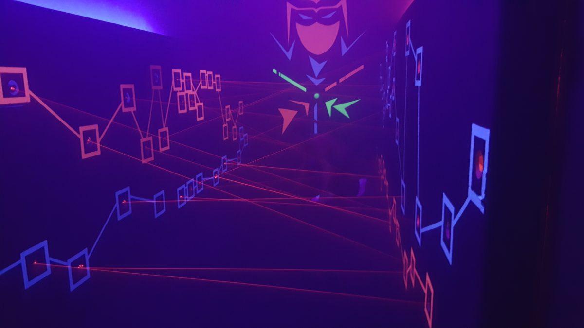 Lasermaze Duisburg Agenten spiel