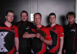 team Shadows bekommt bronzener Markierer