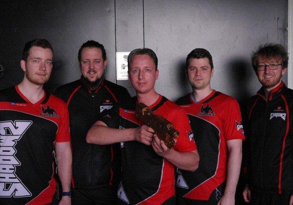 Team ShaDowS bekommt bronzenen Markierer