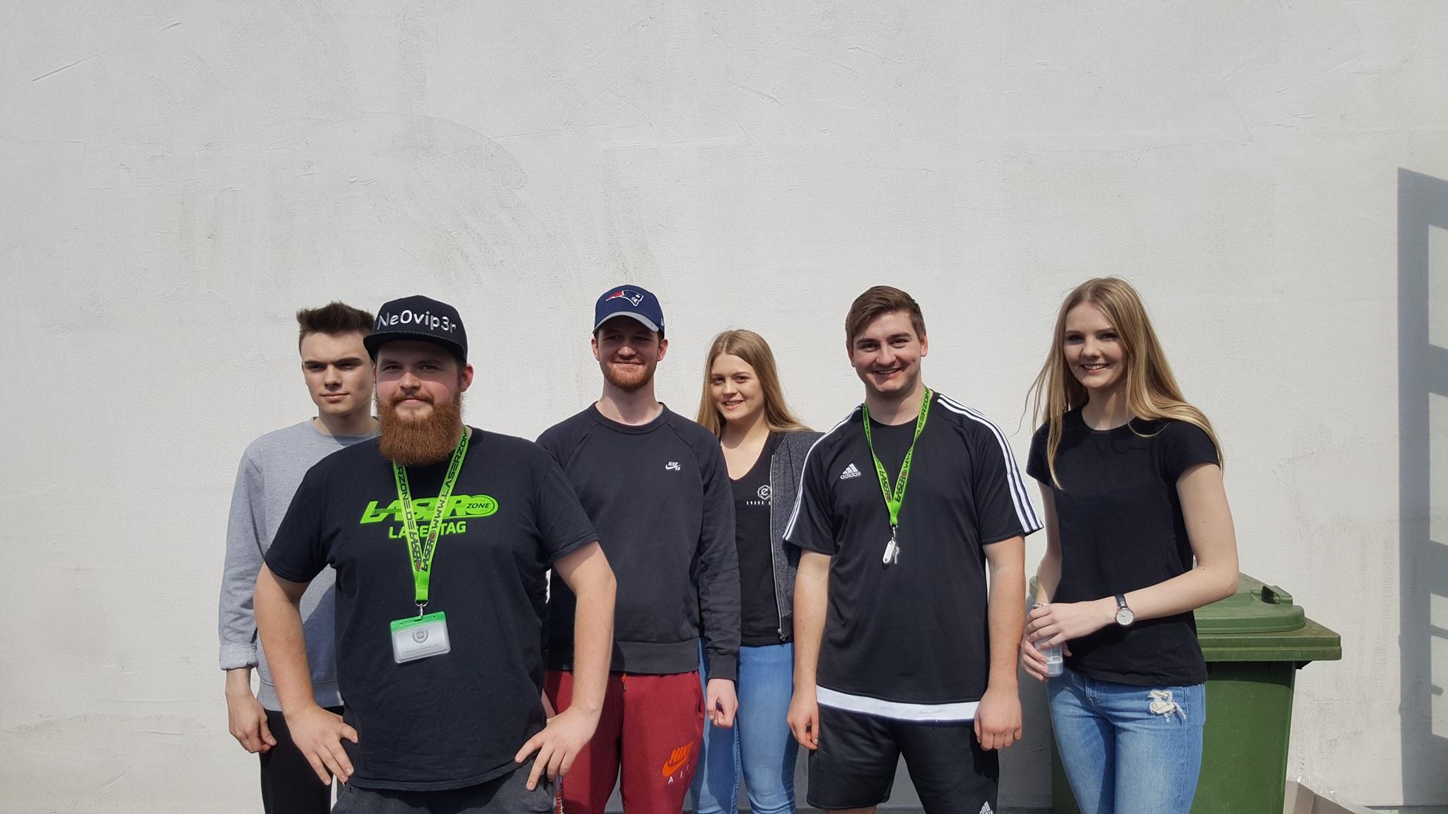 lasertag team
