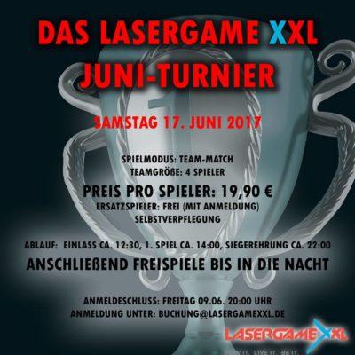 Lasergamme XXL Juni Lasertag Turnier 17.06