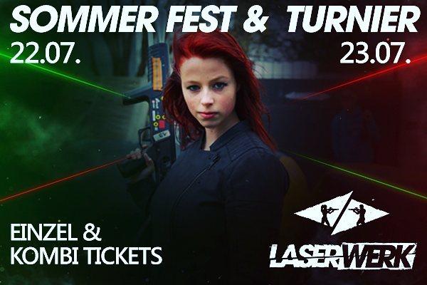 Sommerfest/Turnier am 15/16.07 im Laserwerk Kaltenkirchen