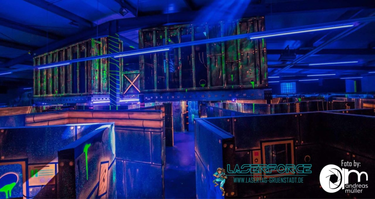 laserforce Grünstadt Header tag team