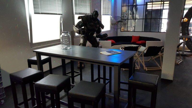 Lasertag Bonn Lounge