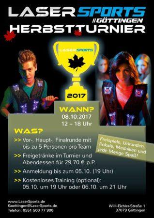 Lasertag Göttingen Herbst Turnier