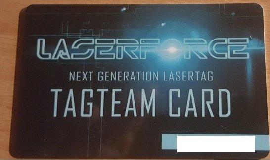 Lasertag Grünstadt Memberkarte