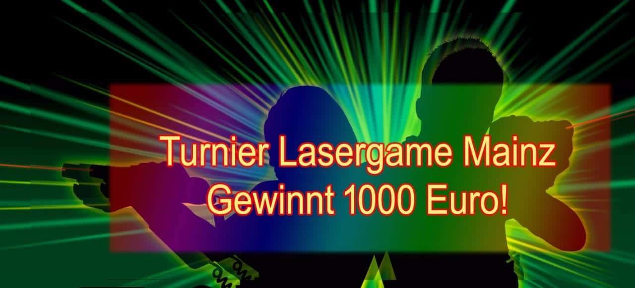 Lasertag Mainz Turnier