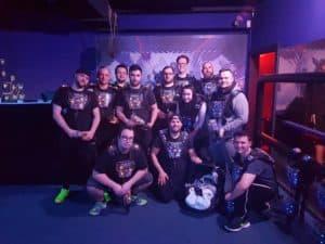 Lasertag Team No-Team Gruppenbild