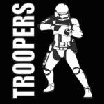 Logo der Lasertag Mannschaft Troopers
