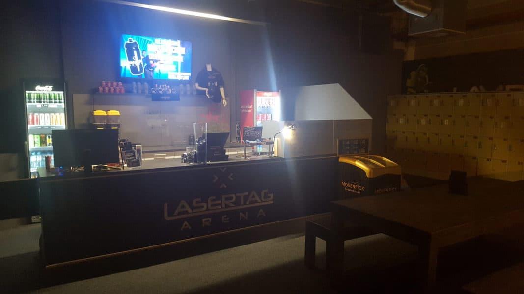 Lasertag Arena Magdeburg Tresen
