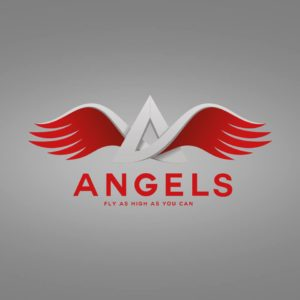 Logo des Lasertag Team Angels
