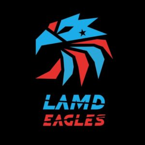 Logo des Lasertag Teams LAMD Eagles