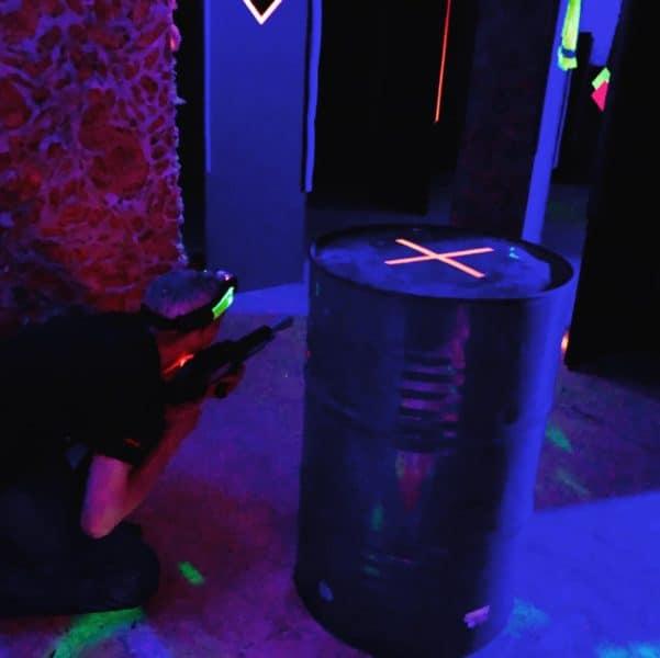 Lasertag Sondershausen Spiel