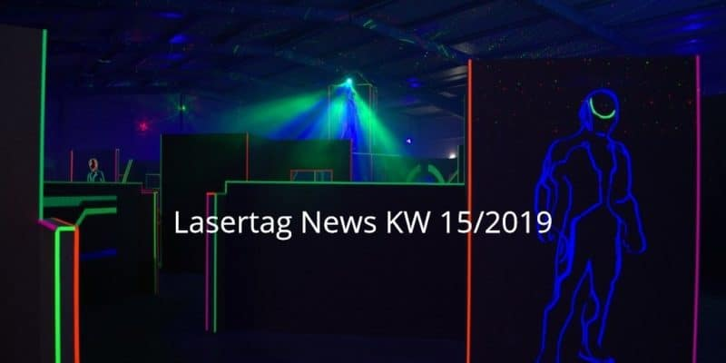 Lasertag News KW 15